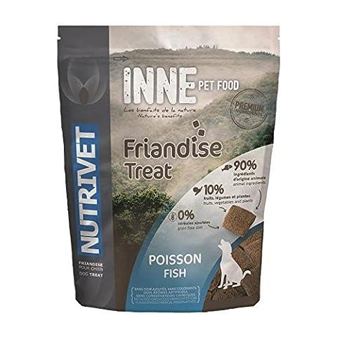 NUTRIVET Snack au poisson Inne - Pour chien - 250 g