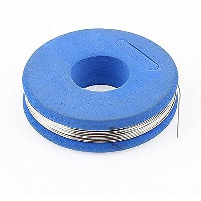 sourcingmap® 7,5m 24,6ft Blau Konstantan 28 AWG 0,35mm 4,989ohm/m Heizdraht Widerstandsdraht von Sourcingmap auf Heizstrahler Onlineshop