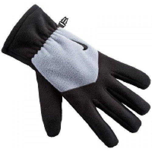 Nike Fleece Trainings Glove - black/light ash, Größe INT:M
