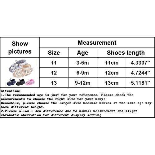 Samber Sandales Bébé Fille Été Sandales Bout Ouvert Plat Enfant Chaussures Sport Plage Respirant Chaussures Semelle Souple Randonnées Sportives pour Bébé 3-12 Mois Argenté
