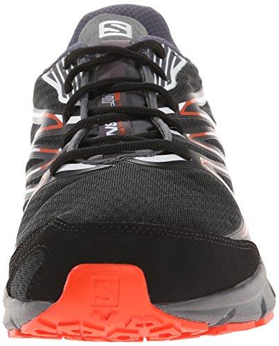 Salomon - Sense Link, Sneakers da uomo Nero (Black/Dark Cloud/Tomato Red)