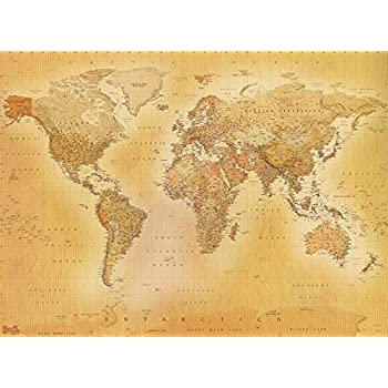 1 wall old world map atlas wallpaper mural 158m x 232m amazon 1wall vintage colour world map feature wallpaper mural wood beige 158 x 232 m gumiabroncs Image collections