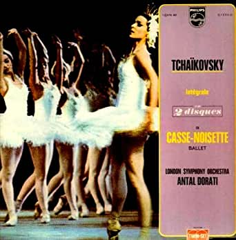 [Disque 33 T Vinyle] Tchaïkovsky, integrale en 2 disques de Casse Noisette Ballet, London Symphony Orchestra, Antal Dorati, Philips, Collection Twin-Set (6755002)