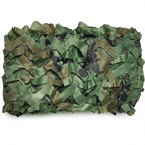 lyzyw Camouflage Net Tarnnetz Sonnenschutz Sonnensegel Markisen, Geeignet FÜR Balkonabdeckungen, GrÜNe Farbe,In Verschiedenen Größen Erhältlich