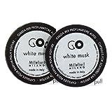 Millefiori Milano 13RGMB muschio bianco capsule refill per deodorante per auto Go