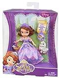 Disney Sofia 10cm Poupee et Clover Figurine