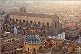 Poster 150 x 100 cm: Historisches Zentrum von Bologna von