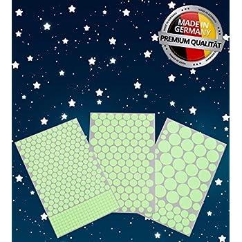 Le Sternenhimmel coceca 400 leuchtpunkte für sternenhimmel wandsticker