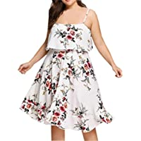 FAMILIZO -Vestidos Midi Elegantes Vestidos Rectos Mujer Tallas Grandes ❤️S~XL Verano Vestidos Sin Tirantes Vestidos Rectos Mujer Fiesta Vestidos Encorsetado Vestidos Sin Mangas Mujer