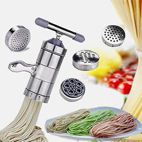 lymty Tragbare Handheld Fast Edelstahl Pasta Maker Manuelle Pressmaschine Presser Kleinen Griff Verdrehmaschine 5 Modelle Haushaltswerkzeug