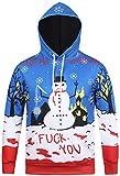 Pizoff Unisex Hip Hop Sweatshirts Kapuzenpullover mit gebraucht kaufen  Wird an jeden Ort in Deutschland