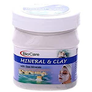 Biocare Mineral and Clay Face Mask with Sea Minerals, 500ml
