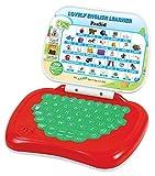 #2: Prasid Lovely English Learner Kids Laptop, Red/Green