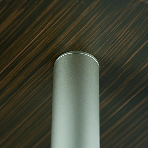 Spotlight, energy-saving bulb, 1x9W DecoSystems 230V, GZ10, Nickel matt/wood
