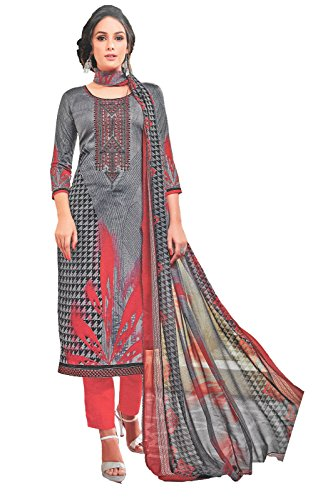Cambric Cotton Pakistani Karachi Style Designer Embroidered Ethnic Casual Office Party Summer...