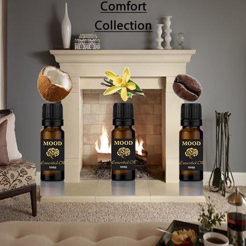 Ätherisches Öl, 10 ml, Vanille, Kokosnuss und Kaffee, gemischt