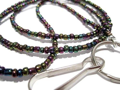 s Perlen lanyard- Mardi Gras Badge Holder ()