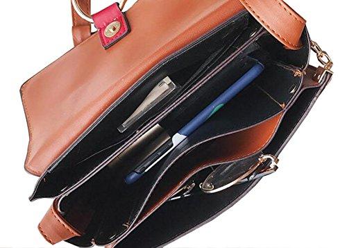Fabelhaft Neue Kette Kleine Quadratische Tasche Mode Hit Farbe Schulter Messenger Bag VerticalSection