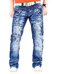 Kosmo Lupo - Jeans - Jambe droite - Homme