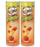 #8: Pringles Zingy Tomato Potato Chips 110 gm ( Pack of 2 )