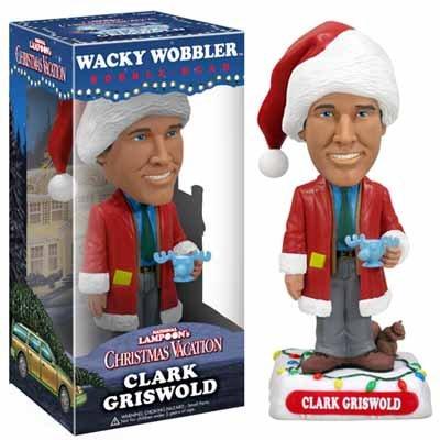 Preisvergleich Produktbild Clark Griswold Christmas Vacation Wackel Kopf Figur mit Elchglas Moose Mug Schöne Bescherung Sammlerstück Deko