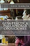 Guía práctica para aprobar oposiciones: Aprueba las oposiciones y saca plaza de funcionario