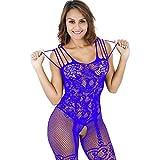 Geili Damen Sexy Bodysuits Frauen Pyjama Reizvoller Verlockend Unterwäsche Einfarbig Perspektive Mesh Unterwäsche Puppe Kleid Öffne den Schritt Babydoll Nachtwäsche