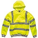 Dickies Hochsichtbares Kapuzen-Sweatshirt Warnschutz SA22090, Farbe:Orange;Größe:XXL