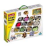 Quercetti Smart Puzzle Jungle & Savana Prima Infanzia,, 0232