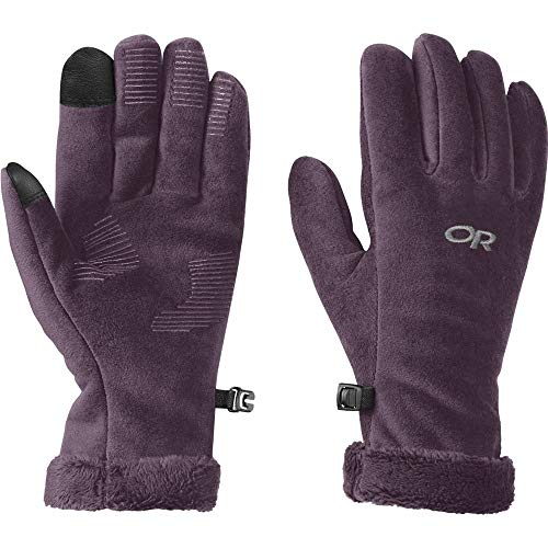 51J4F7Sh8cL. SS500  - Outdoor Research Women's Fuzzy Sensor Gloves