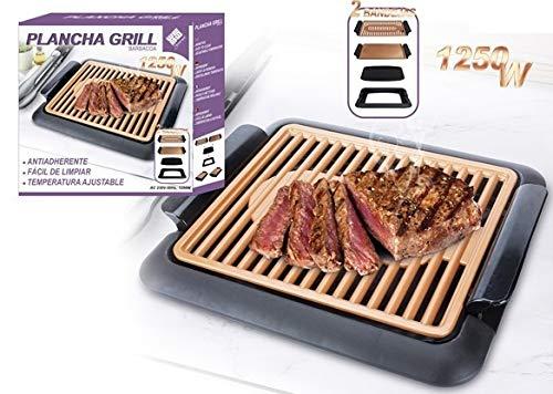 Plancha Grill Barbacoa 1250W Chef Robert Brown