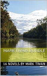 Mark Twain Bundle: Huckleberry Finn, Tom Sawyer and 14 Other Classic Novels (English Edition)