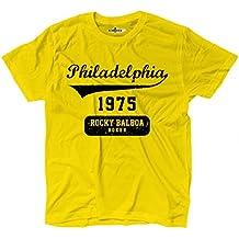 Camiseta camiseta Rocky Balboa Boxer Philadelphia Film Cult 3kiarenzafd Shirts, amarillo