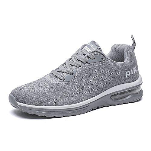 Unisex Zapatillas de Correr Casual Aire Libre Deporte Fitness Zapatillas de Running para Hombre Mujer 37-46