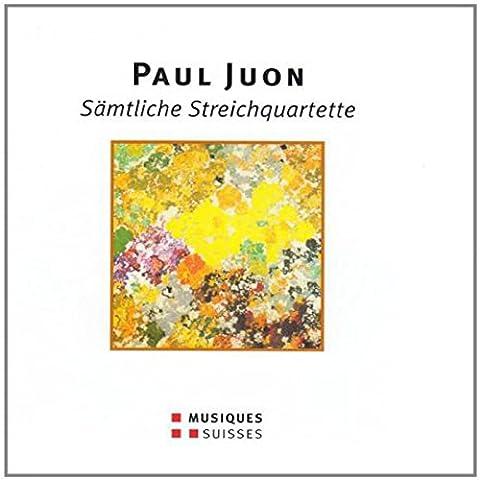 Juon : Intégrale des quatuors à cordes