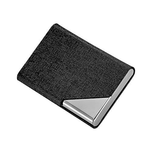 NIUQY Tragbarer Sicherheit Verlustprävention Bank Kreditkarte Paket Kartenhalter Visitenkartenetui Box Personalisiert Aufbewahrungsboxen Faltbare