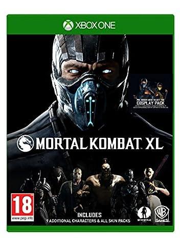 Mortal Kombat XL XB-One AT inkl Pack 1+2 Skin Packs auf CD [Import allemand]