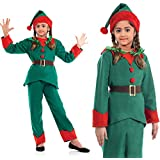 Fancy Steps Kids Christmas( Select Size In Dropdown) Party Costume Fancy Dress Children Outfit Boys Girls Nativity Costume | Xmas Costume | Holidays | Birthday B'Day Gift (8 To 10 Yrs)