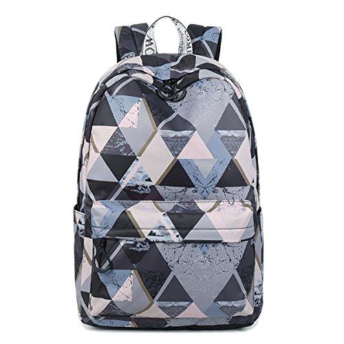 e47a803d574b Acmebon Lightweight School Backpacks for Teen Girls Casual 15.6
