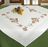 Stickpackung Tischdecke Mitteldecke Vögelchen und Beeren