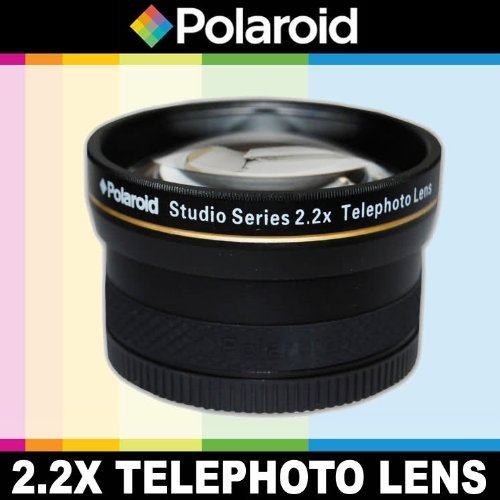 Polaroid Studio Series 2.2X High Definition Telephoto Lens Includes Lens Pouch and Cap Covers For The Canon EOS-M Mirrorless Camera Which Has The (18-55mm) Canon EF-M Lens  available at amazon for Rs.4599
