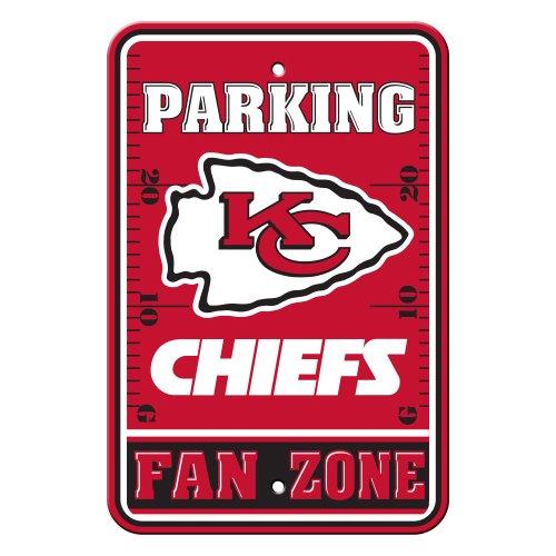 Fremont Die NFL Kansas City Chiefs Kunststoff Parken Schild