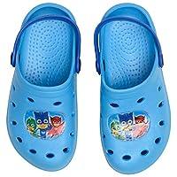 PJ Masks Official Crocs - Sizes 5-12 Junior (5.5 UK Child, Light Blue)