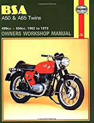 BSA A50 & A65 Twins 1962 - 1973 (Motorcycle Manuals)