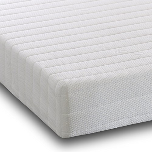 Visco Therapy Mattress 7-Zone Memory Foam and Reflex Rolled Mattress with Micro Quilted Cover and FREE DELIVERY (5FT King)