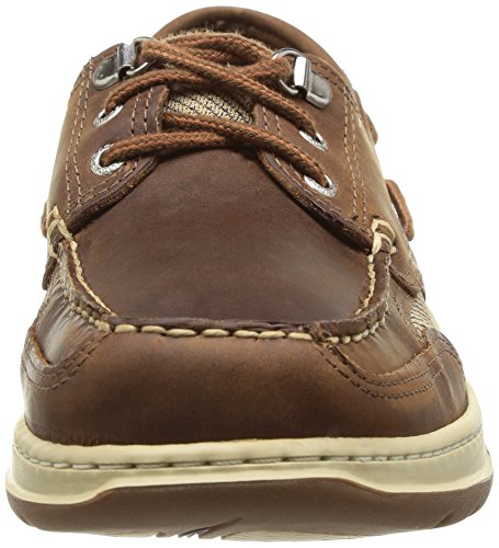 Sebago Men's Clovehitch II Boat Shoe,Walnut,10 N US Walnut