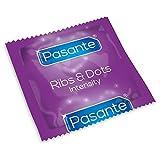 Pasante - Intensity - Ribs & Dots - Condoms - CE & British Kite Mark (24)