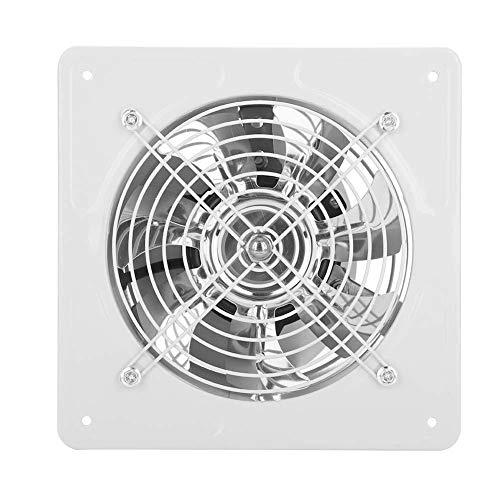 Ventilatore a Parete a Basso Rumore della Ventilazione dell\'Aria della Finestra del Ventilatore di Scarico di 40W 220V per il Granaio del Garage della Cucina del Bagno(White)