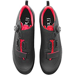 Fizik Terra X5 - Zapatillas Hombre - Rojo/Negro Talla del Calzado 43 2019