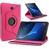 Funda Giratoria 360º para Tablet Samsung Galaxy Tab A 2016 T580 T585 10.1 - Slim Book Cover (Rosa)